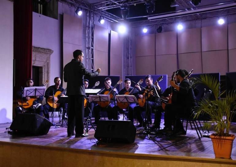 Orquesta de Guitarras Adolfo Mejía: Conciertos de Orquesta de Guitarras Adolfo Mejía, esta semana en Cartagena