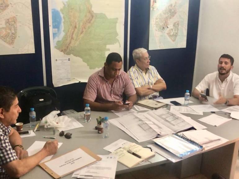 Comité técnico de patrimonio de Cartagena: Ricardo Zabaleta, al comité técnico de patrimonio de Cartagena