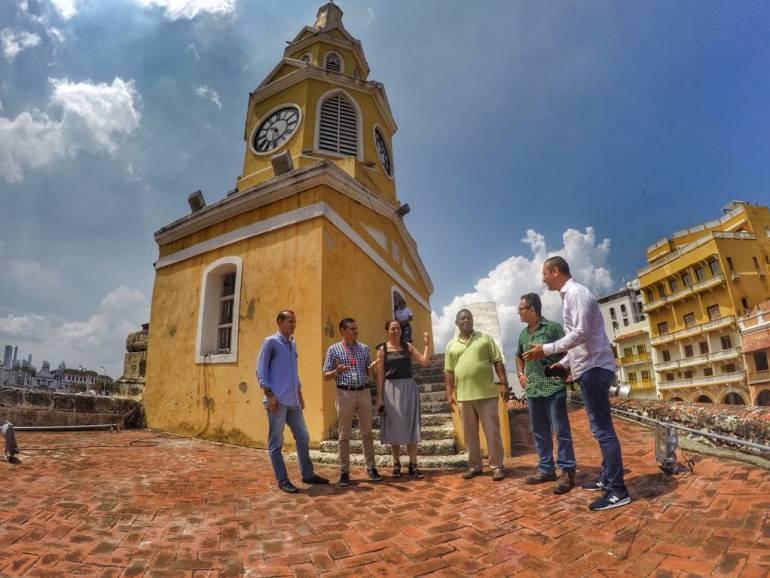 Torre del Reloj: Torre del Reloj de Cartagena ya está lista para volver a marcar la hora