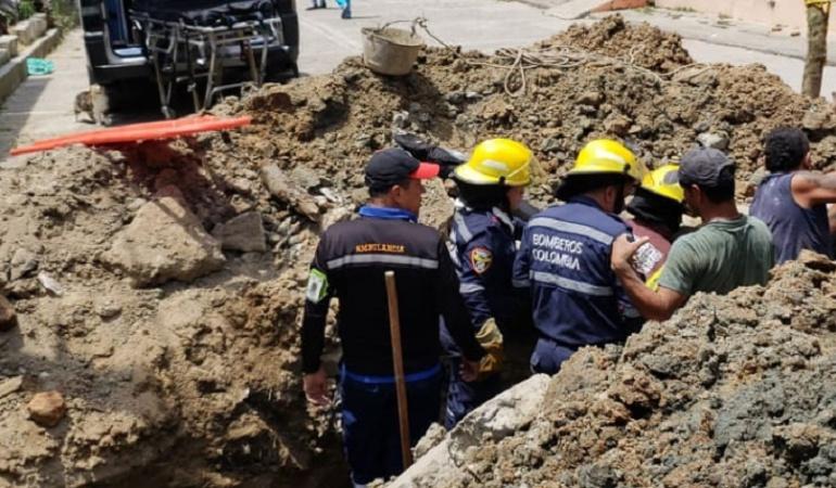 El rescate de Moisés Martínez tardó varios minutos