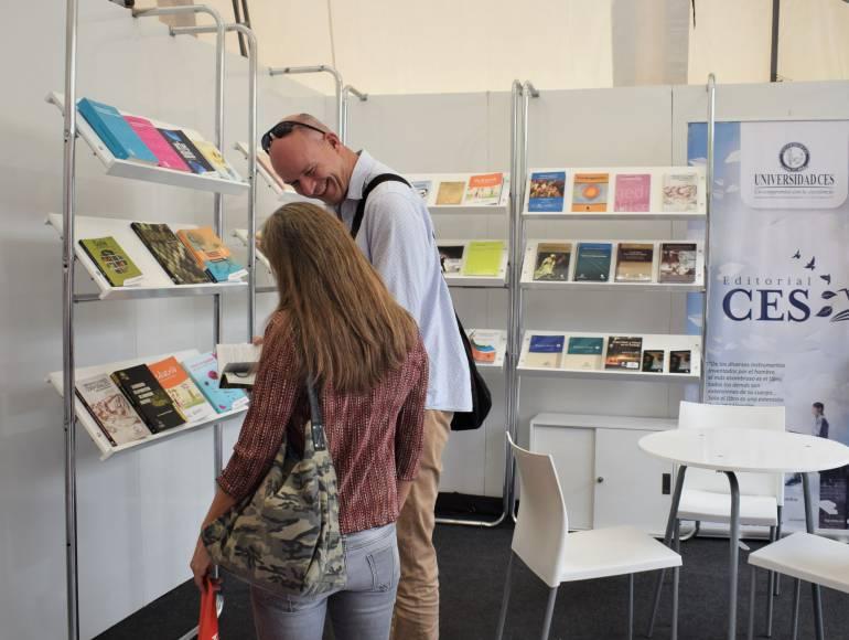 Fiesta del libro, editoriar CES, Medellín: Con 48 títulos, Editorial CES debuta en Fiesta del Libro de Medellín