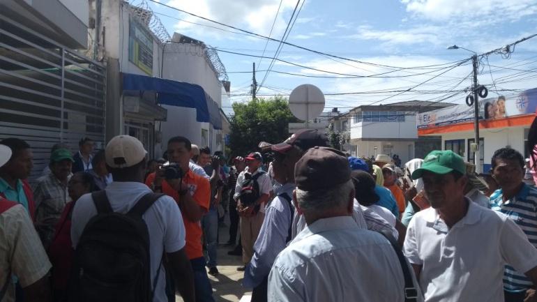 Conflicto Colombia: Víctimas del conflicto en Montería exigen agilidad en procesos