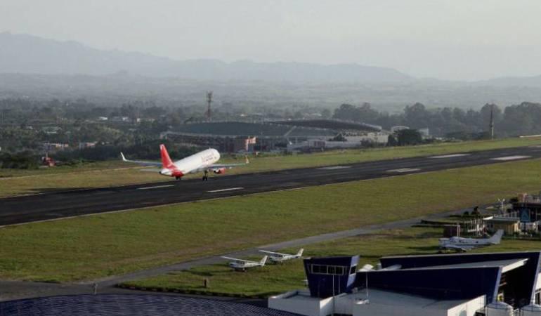 Aeromatecaña aumenta en un 13% el movimiento de pasajeros