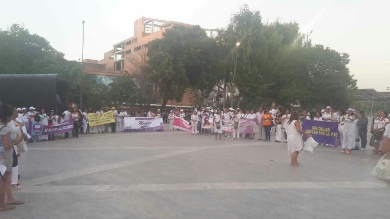 Mujeres piden seguridad en Barranquilla: Piden protocolo de seguridad para mujeres en Barranquilla