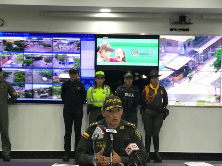 Supuestos raptos en Barranquilla: No hay denuncias de raptos en Barranquilla, reitera general Botero
