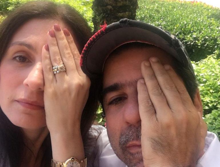 Alcalde Alejandro Char y la primera dama, Katia Nule.