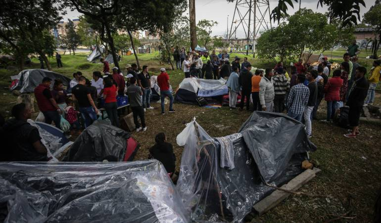 Plan para ayudar venezolanos migrantes en Bogotá: Medidas especiales para atender a venezolanos en Bogotá