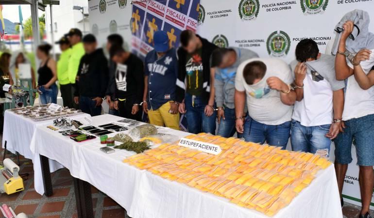 Policía desarticula banda que almacenaba droga en Cuba