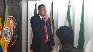Oscar Castellanos, integrante de la terna del partido Liberal