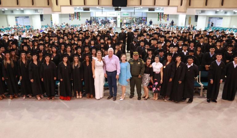 Nuevos profesionales graduados por el Centro Tecnológico de Cúcuta