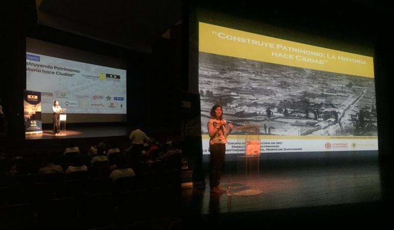 """Seminario  """"Construyendo Patrimonio: la historia hace ciudad"""" en Cúcuta"""