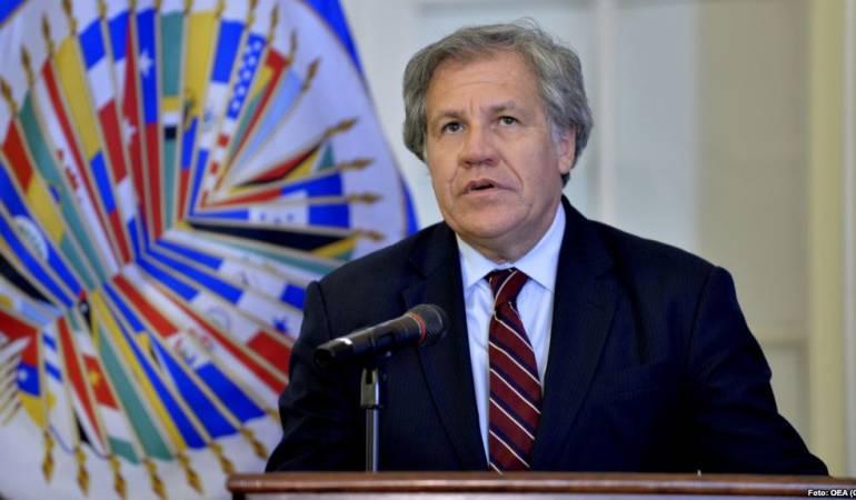 Luis Almagro. Secretario General de la OEA.