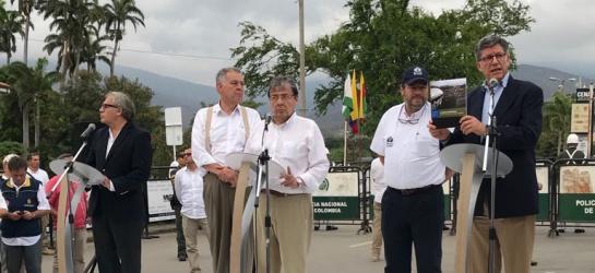 Visita Luis Almagro: Almagro pide no descartar opción militar frente a crisis en Venezuela