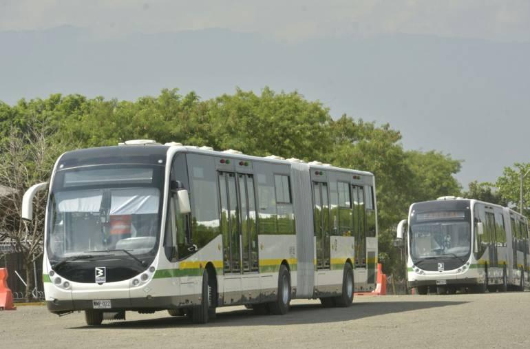 Metroplus, eléctricos, flota: Dentro de un año, los buses de Metroplus trabajarán con energía