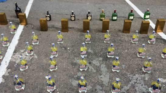 Decomisan licor adulterado que pretendían vender ferias de Bucaramanga
