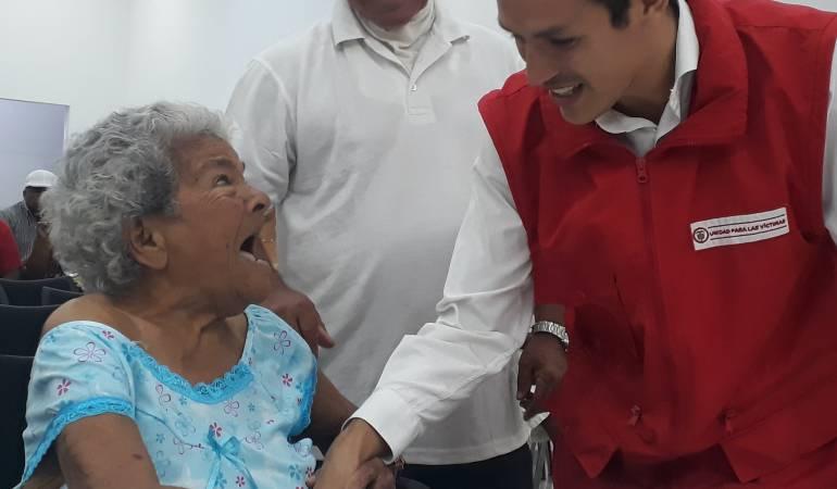Trabajo con víctimas en Bolívar: $4.800 millones en indemnizaciones fueron entregados a víctimas en Bolívar