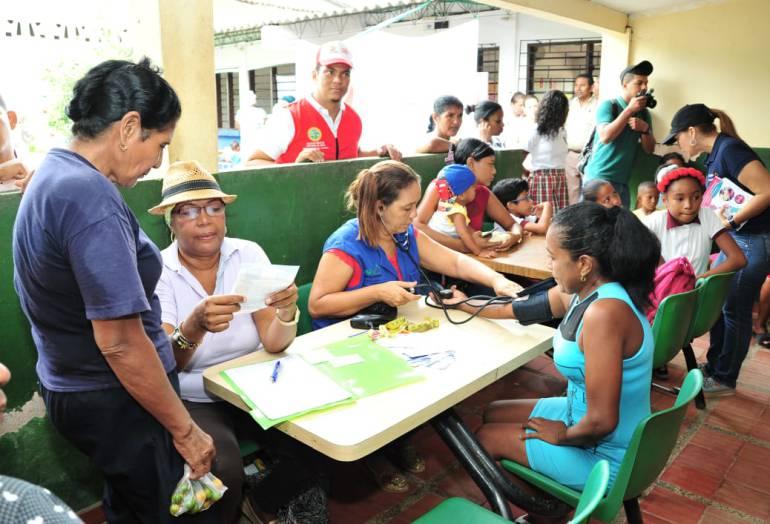 Corregimientos de Cartagena: Alcaldía de Cartagena llegó a Recreo y Leticia con jornada integral