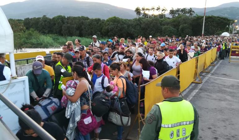 Zona de frontera entre Colombia y Venezuela.