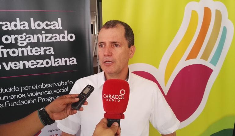 Wilfredo Cañizares Arévalo presidente Fundación Progresar en Norte de Santander.
