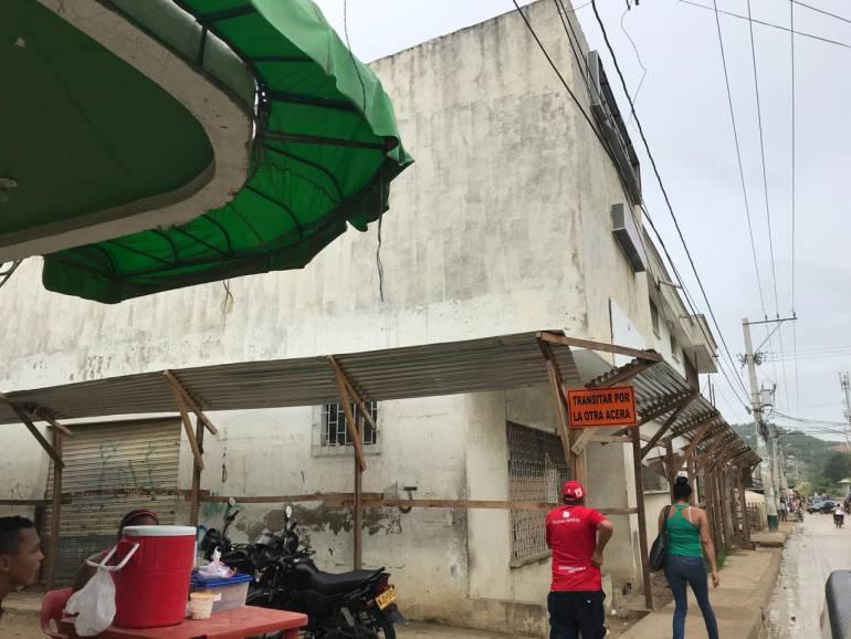 Infraestructura salud Cartagena: Claman por finalización del puesto de salud de Nelson Mandela, en Cartagena