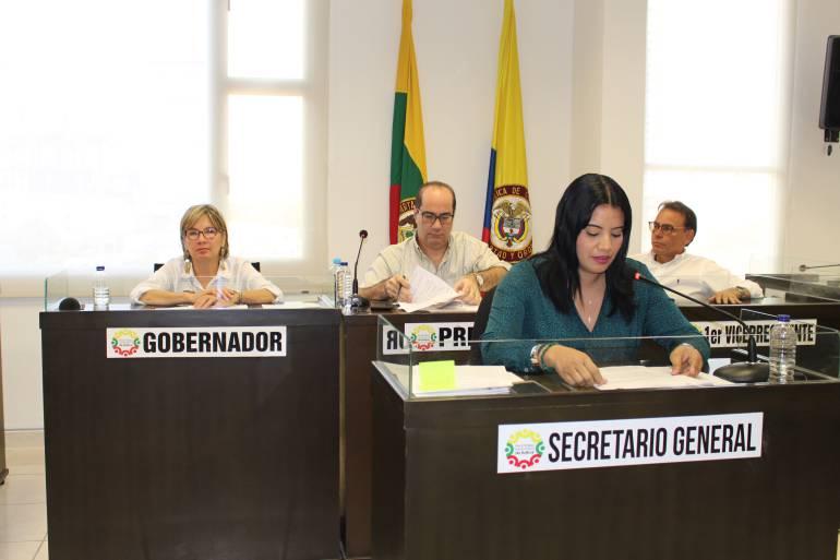 Asamblea de Bolívar aprobó cuatro proyectos presentados por la Gobernación: Asamblea de Bolívar aprobó cuatro proyectos presentados por la Gobernación