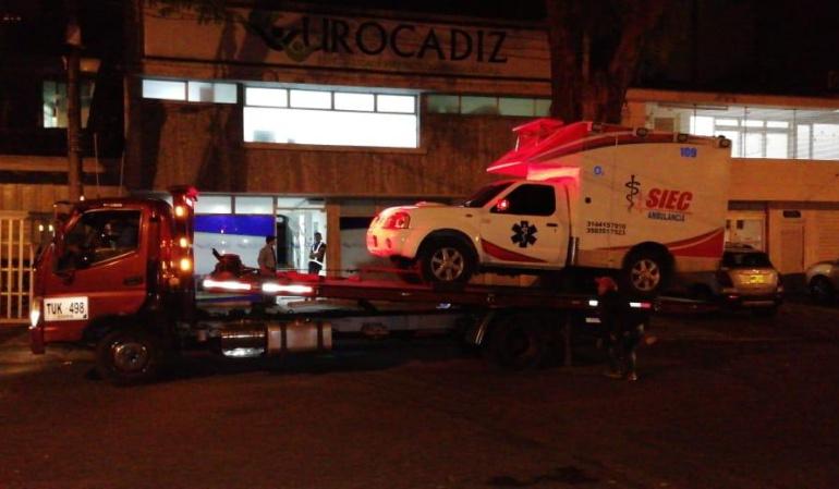 Mal estado ambulancias Ibagué: Encontraron ambulancias sin documentación y con fallas técnicas