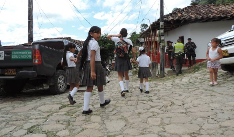 Deserción escolar en Caldas