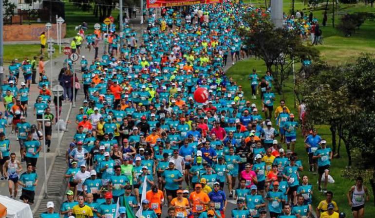 Maratón, organizador, defensa: Organizador de la Maratón de Medellín defiende su operación