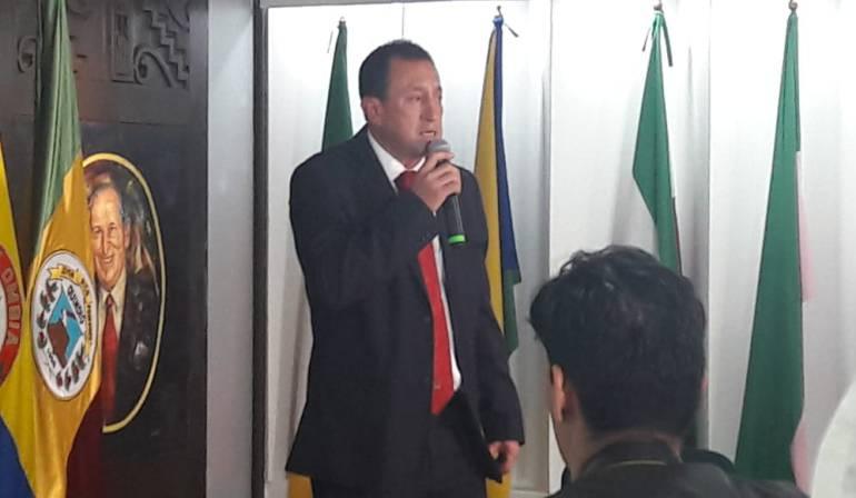 Oscar Castellanos, alcalde Armenia