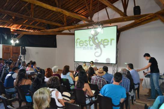 CINE VERDE EN SANTANDER: Comenzó el festival que resalta el cine y el ambiente, Festiver