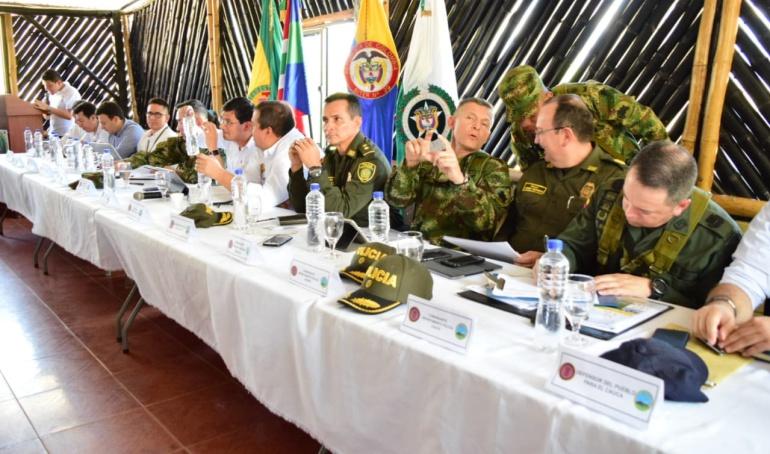 Consejo Seguridad Cauca y Nariño