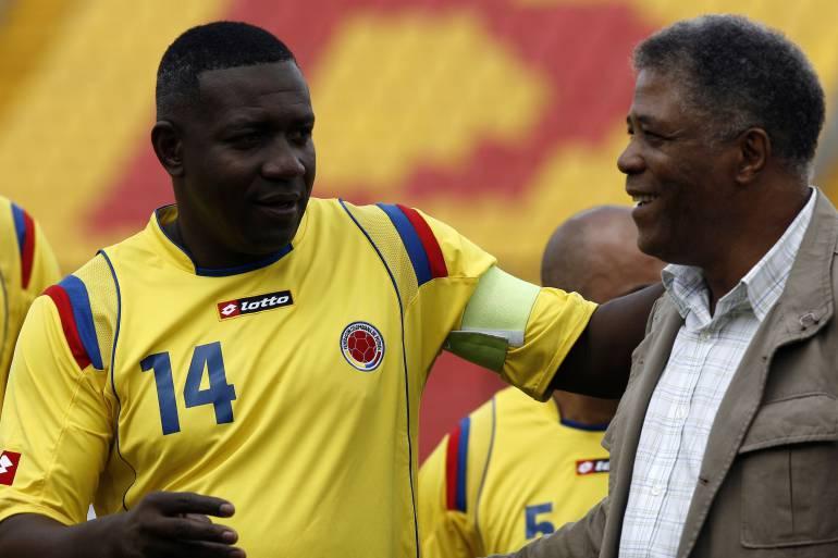 Gloria del fútbol colombiano Tras varios días de hospitalización