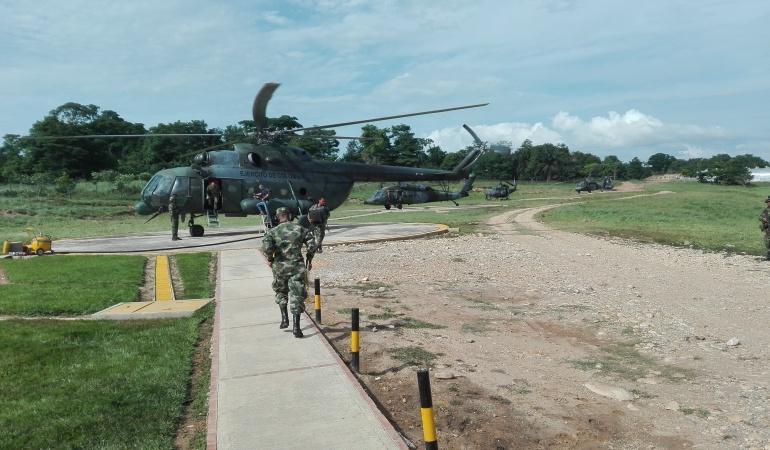 Acuartelamiento de primer grado para fuerzas militares en frontera