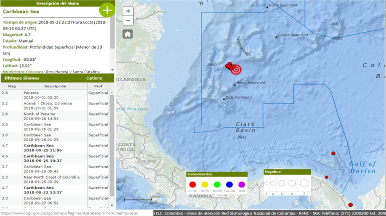 ¿Por qué está temblando tanto en San Andrés y Providencia?