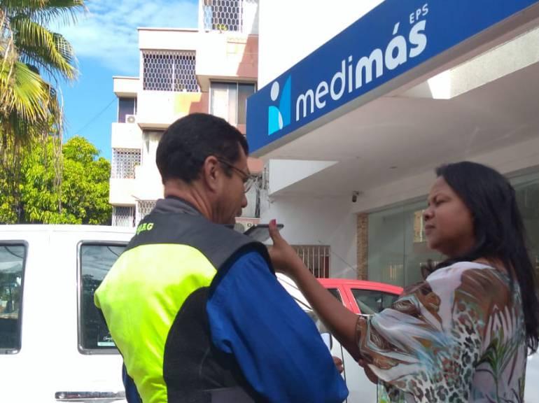 El viacrucis de los usuarios de Medimás en Barranquilla