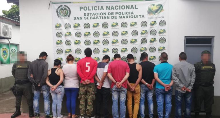 """""""Guaqueros"""" capturados en el Tolima"""