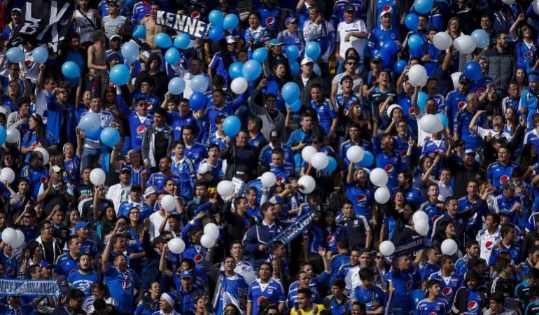 Millonarios, Once Caldas, Partido por copa,: Hinchas de Millonarios NO podrán ingresar al partido por Copa en Manizales
