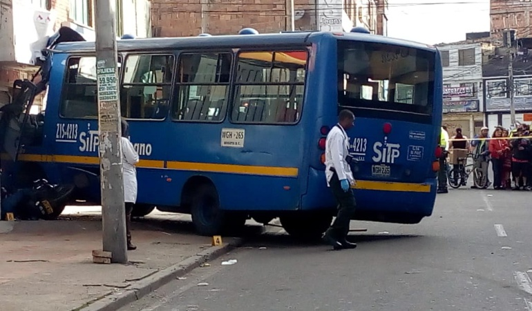 Accidente de SITP en Bosa