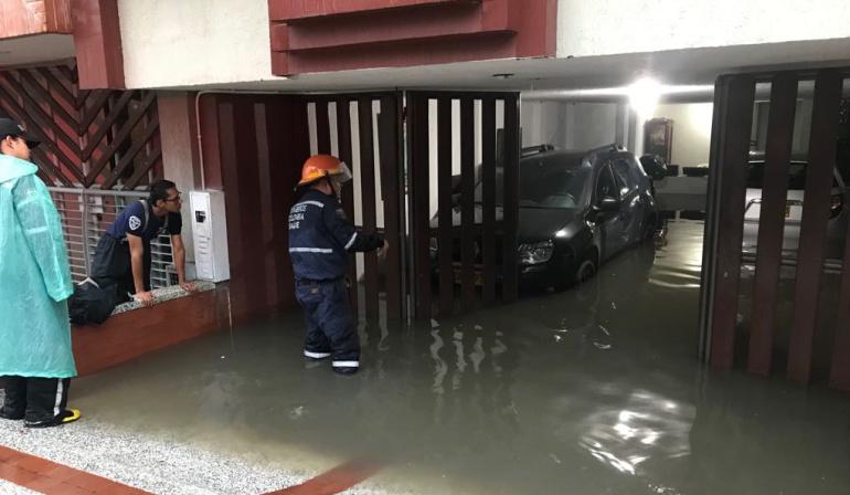Inundaciones en Ibagué