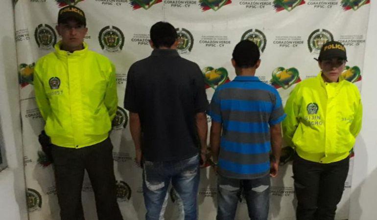 Padre e hijo capturados por presunto feminicidio