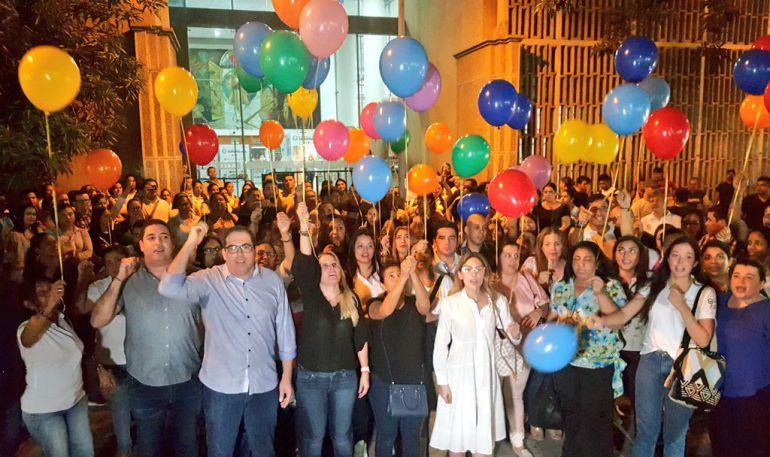 Barranquilla se unió al clamor nacional por la liberación de Cristo José: Barranquilla se unió al clamor nacional por la liberación de Cristo José