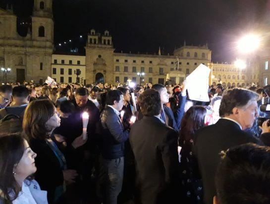 Norte de Santander: Con plantón en la Plaza de Bolívar piden liberación de Cristo José