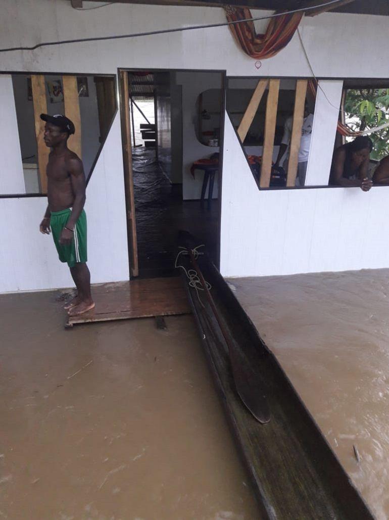 Inundaciones por fuertes lluvìas Buenaventura Yurumanguí: Emergencias por lluvias en Yurumanguí zona rural de Buenaventura