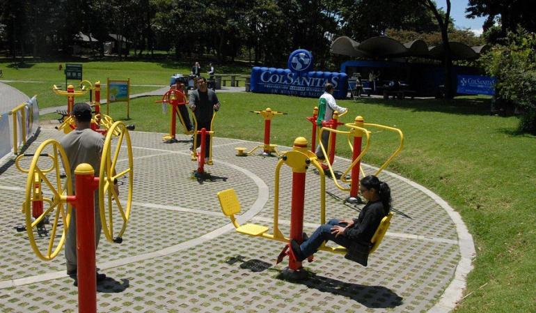 Parques en Bogotá: Personería: En abandono parques de los barrios en Bogotá