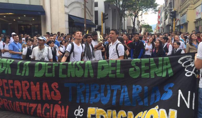 Así será la marcha en defensa de la educación pública en Pereira: Así será la marcha en defensa de la educación pública en Pereira