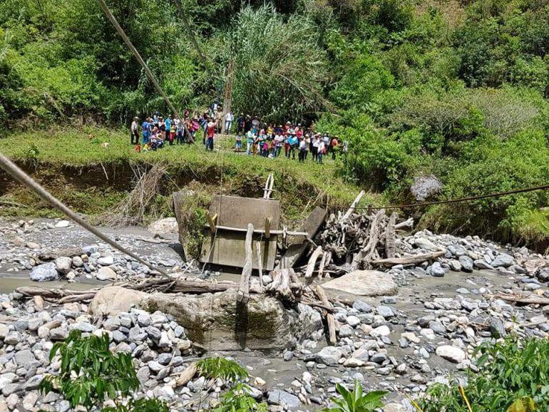 un campesino murió por reciente de rio coromoro: Lluvias cobran la primera víctima en Santander