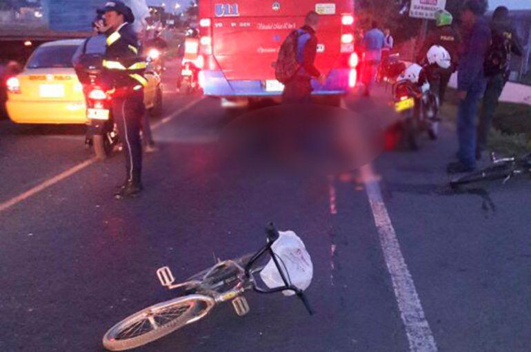 Intolerancia: Asesinado en Cali ciclista por ir en contravía