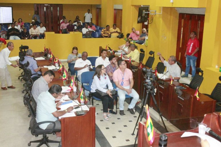 Proyecto para otorgar becas a deportistas tuvo audiencia en Cartagena: Proyecto para otorgar becas a deportistas tuvo audiencia en Cartagena