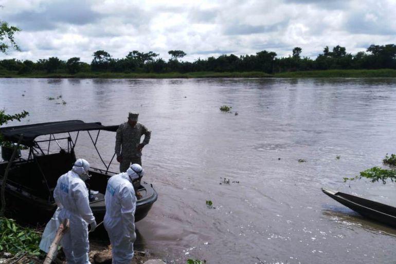 En Magangué rescatan cuerpo de menor ahogada en el río Magdalena: En Magangué rescatan cuerpo de menor ahogada en el río Magdalena
