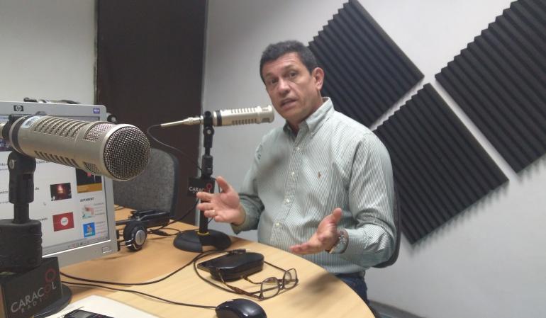 Alberto Girón, gerente del Ibal